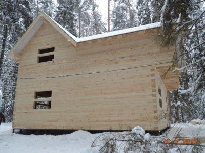 Дом из профилированного бруса 145х195мм