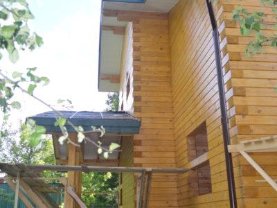 фото отделочных работ дома из бруса